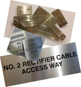 Stainless Steel Labels Cable Tags Valve Tags Label